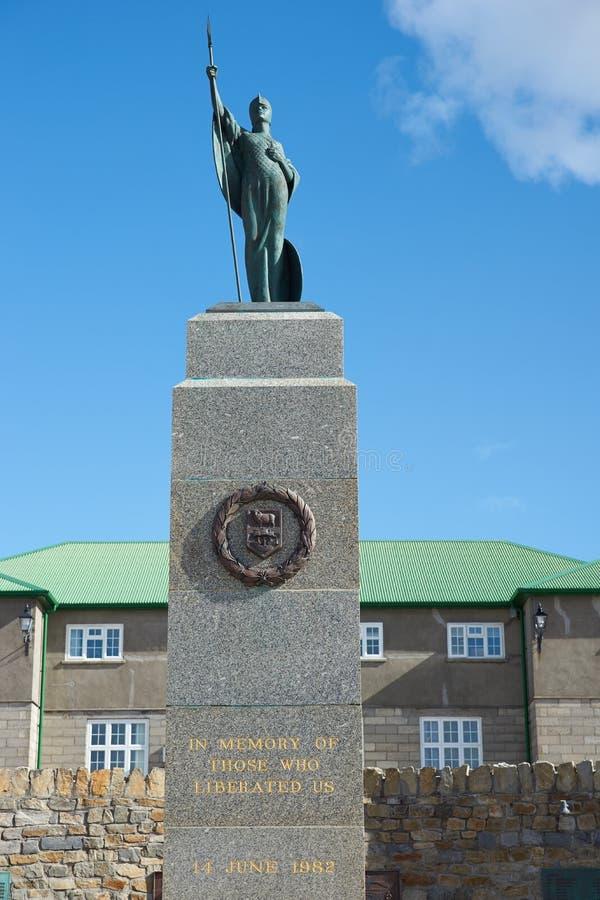 解放纪念碑 库存照片