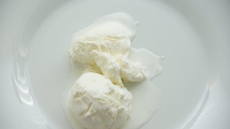 解冻冰淇凌 库存照片