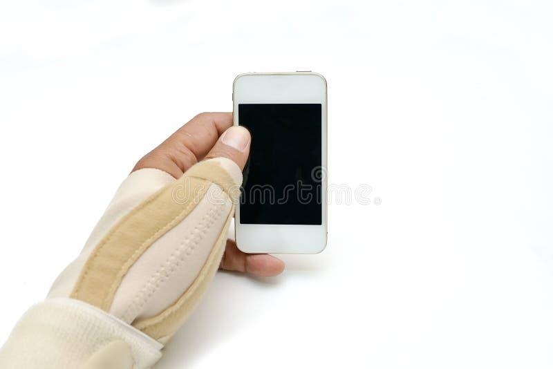 触发器手指油漆 库存图片