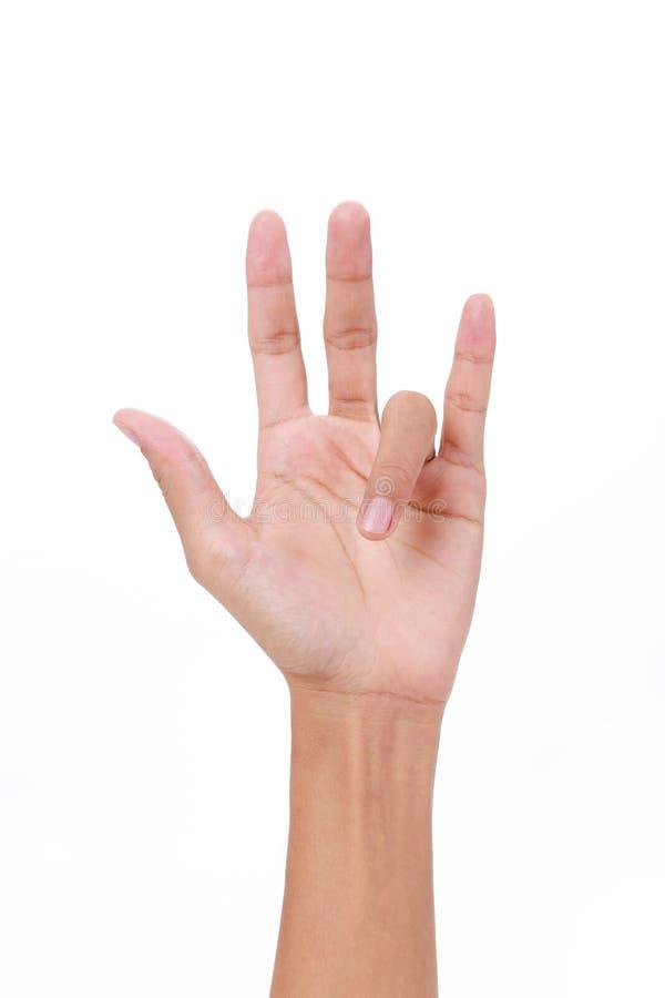 触发器手指 免版税库存照片