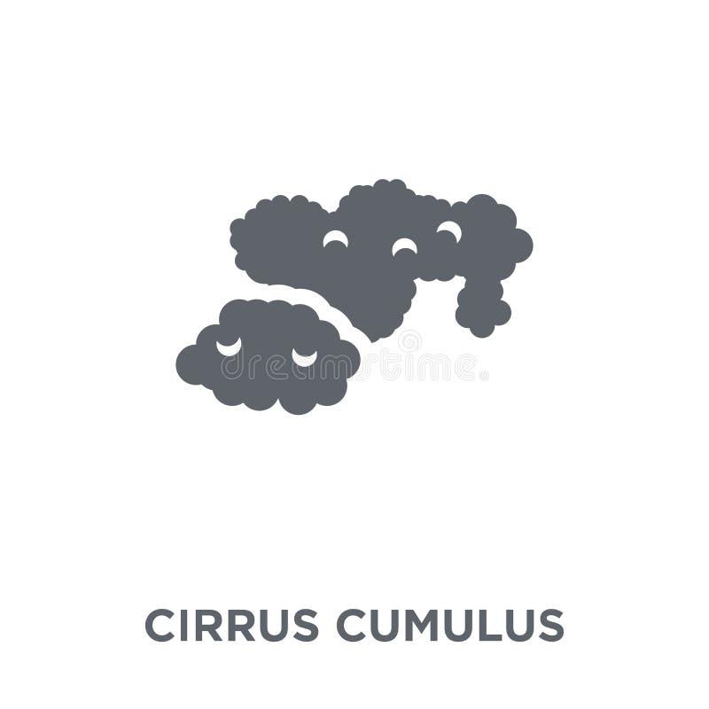 触毛从天气汇集的积云象 向量例证