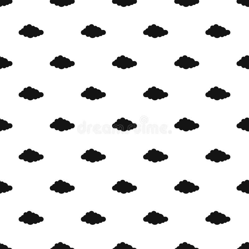 触毛样式无缝的传染媒介 向量例证