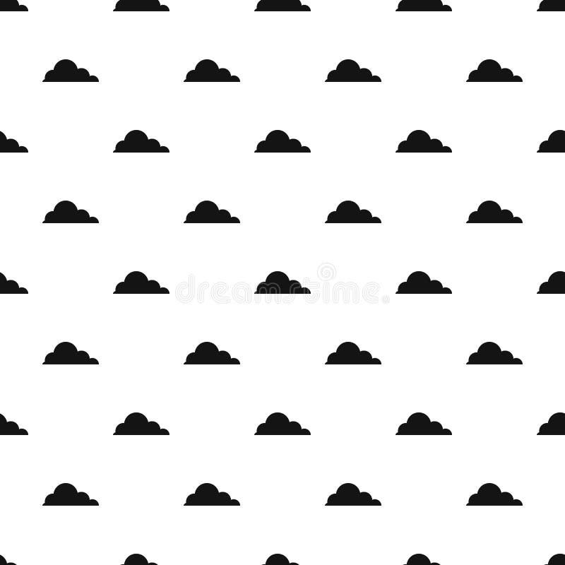 触毛积云样式无缝的传染媒介 皇族释放例证