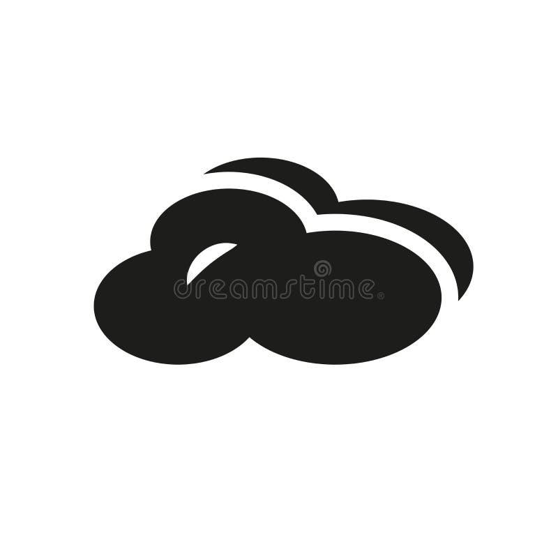 触毛积云象  向量例证