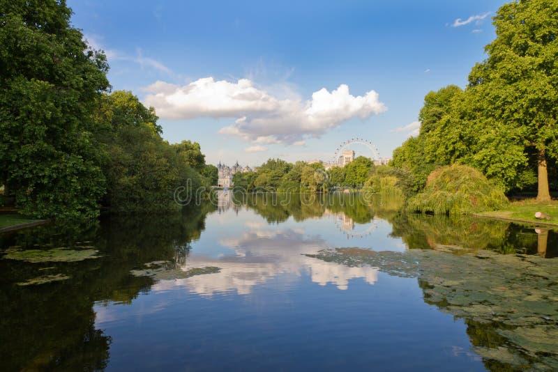詹姆斯・伦敦公园st英国 库存图片