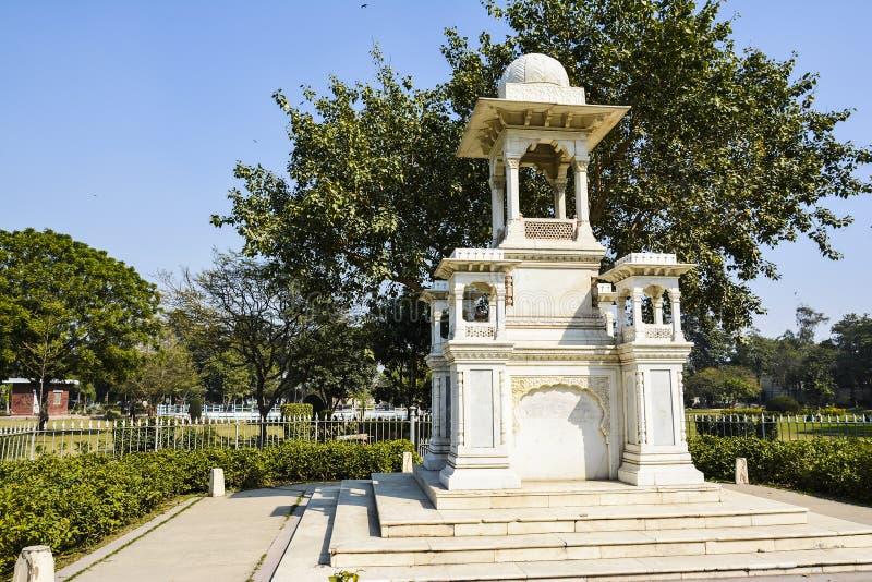 詹姆斯Lyall Monument先生 库存照片