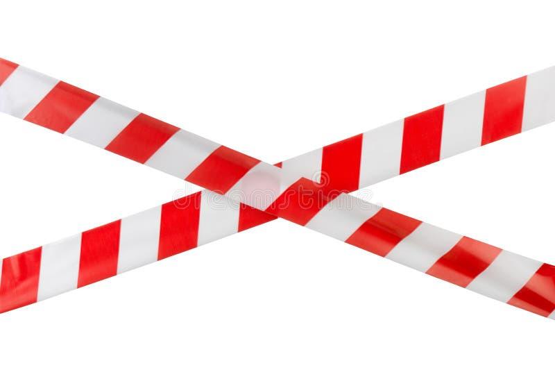 警告磁带 免版税库存照片