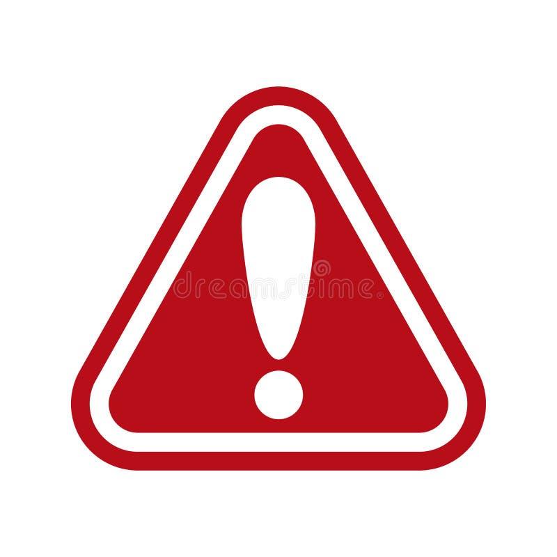 警告,与惊叫果渣的停车牌象-传染媒介 库存例证