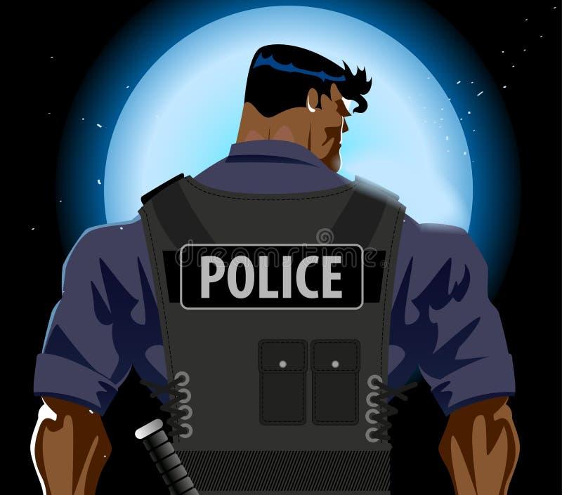 警察供以人员 皇族释放例证