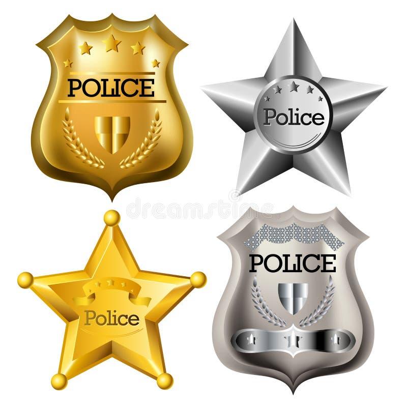 警察证章集合