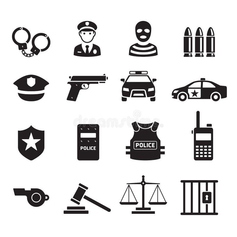 警察象 下载例证图象准备好的向量 向量例证