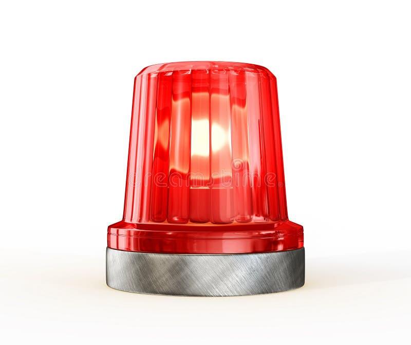 警报器 向量例证