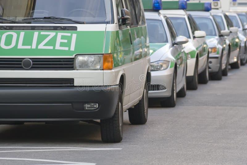 警车。 德国 库存图片