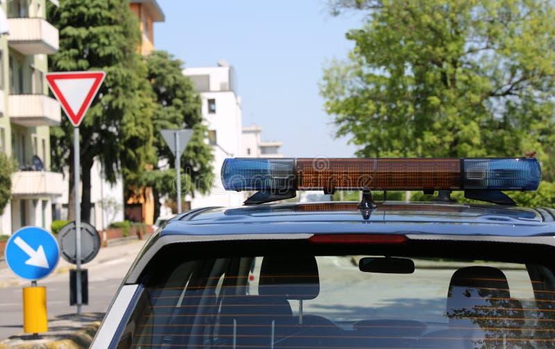 警车警报器  库存照片