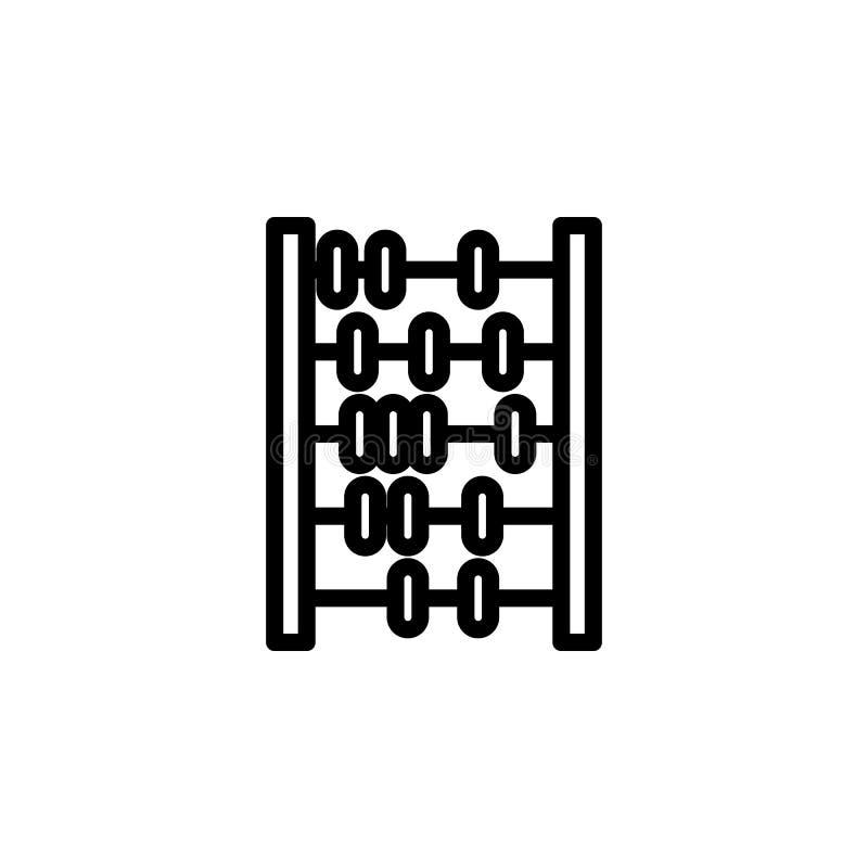 计分象 minimalistic象的元素流动概念和网apps的 网站设计和发展的, app稀薄的线象 皇族释放例证