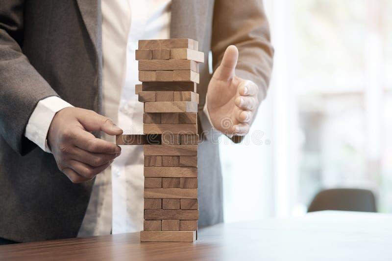 计划、风险和战略在事务 免版税库存图片