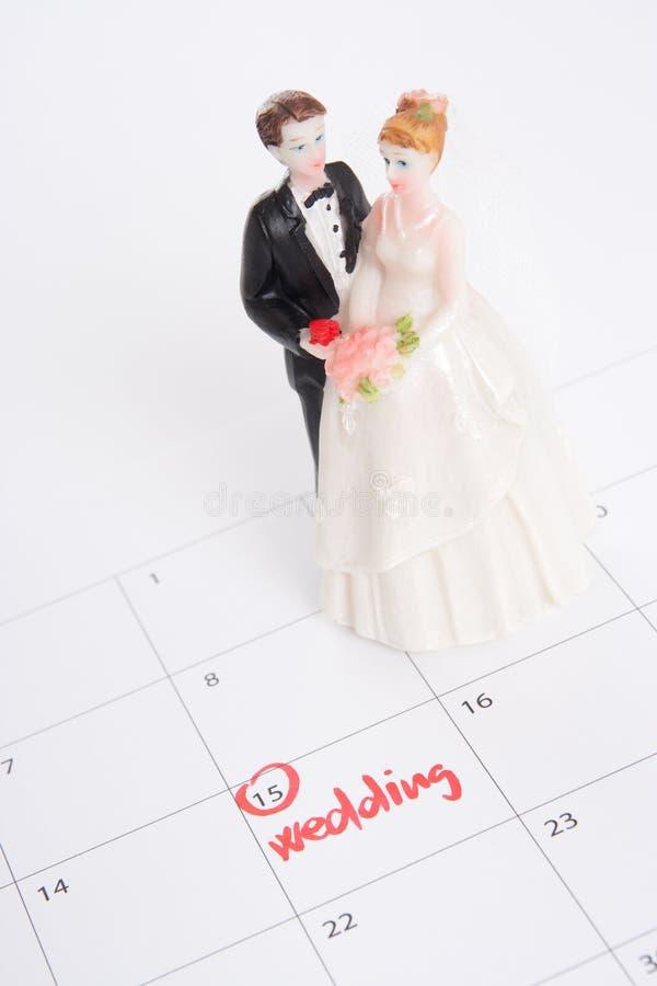 计划婚礼 图库摄影