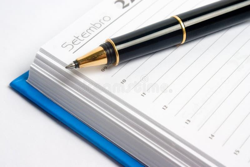 计划程序 免版税库存照片