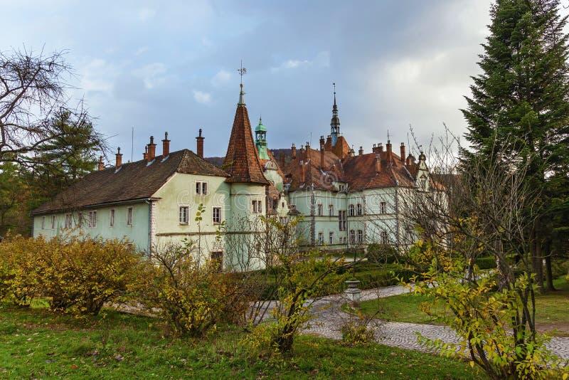 计数Schonborn城堡  免版税图库摄影