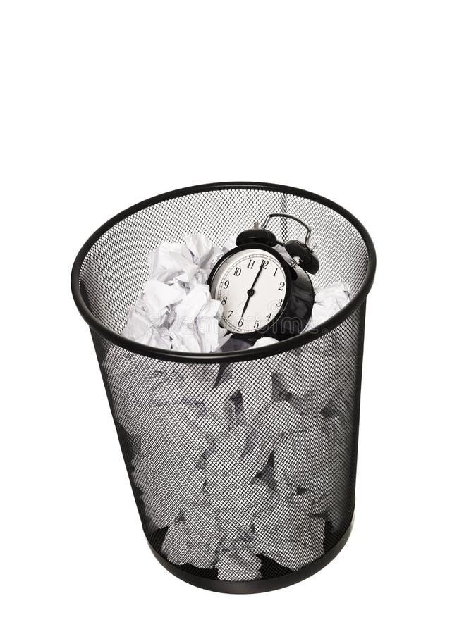 计时浪费 免版税库存照片