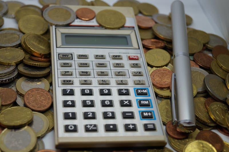 计算与所有费用 图库摄影