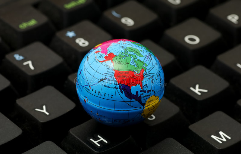计算全球 免版税图库摄影