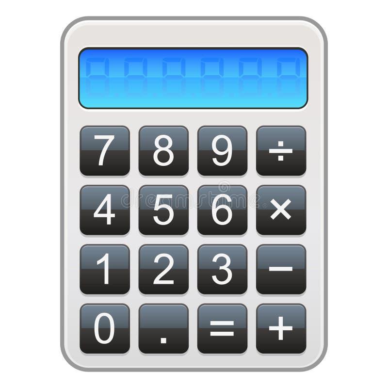 计算器图标 库存例证