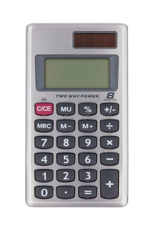 计算器数字式小 免版税库存图片