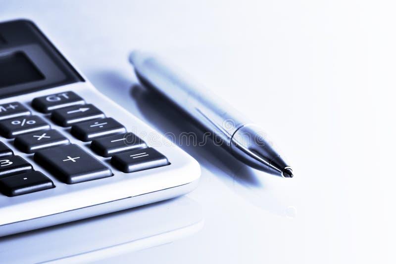 计算器笔 库存图片