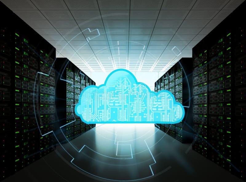 2010计算微软smau的云彩 皇族释放例证