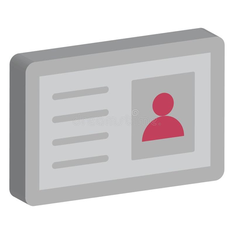 计算机、笔记本电脑隔离隔离矢量图标,可轻松修改或编辑 库存图片