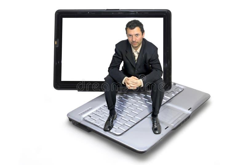 计算机世界 库存照片