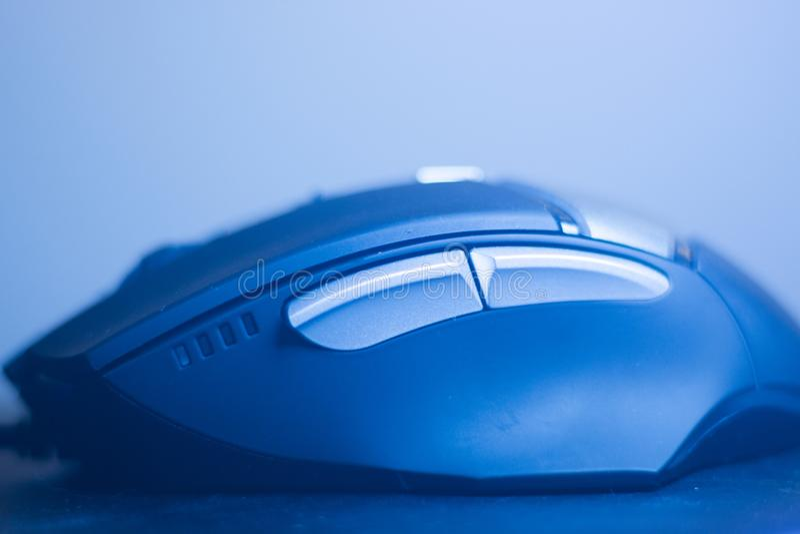 计算机个人计算机光电鼠标 免版税库存图片