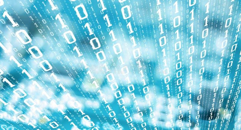 计算机二进制编码编号财政网络罪行 皇族释放例证