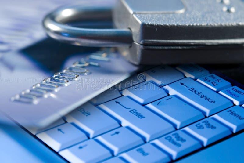 计算机互联网证券 免版税库存图片