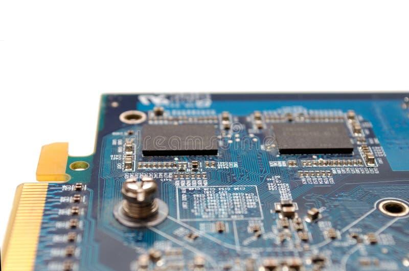 计算机图表卡片 图库摄影
