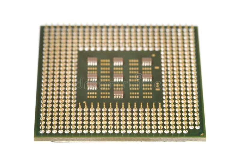 计算机处理器 库存图片