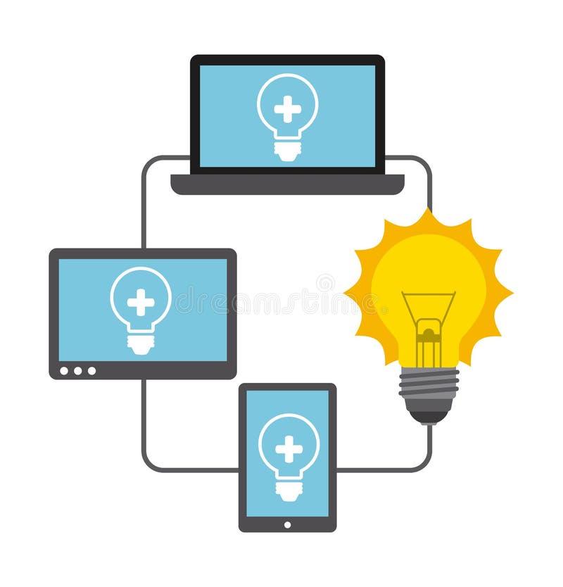 Download 计算机工作 向量例证. 插画 包括有 计算机, 设备, 凸起的, 膝上型计算机, 设计, 经理, 向量, 抽象 - 59100068