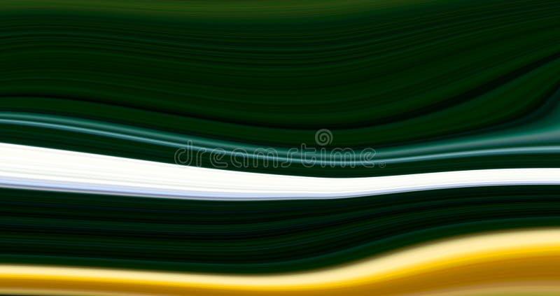 计算机引起的抽象颜色背景 库存例证