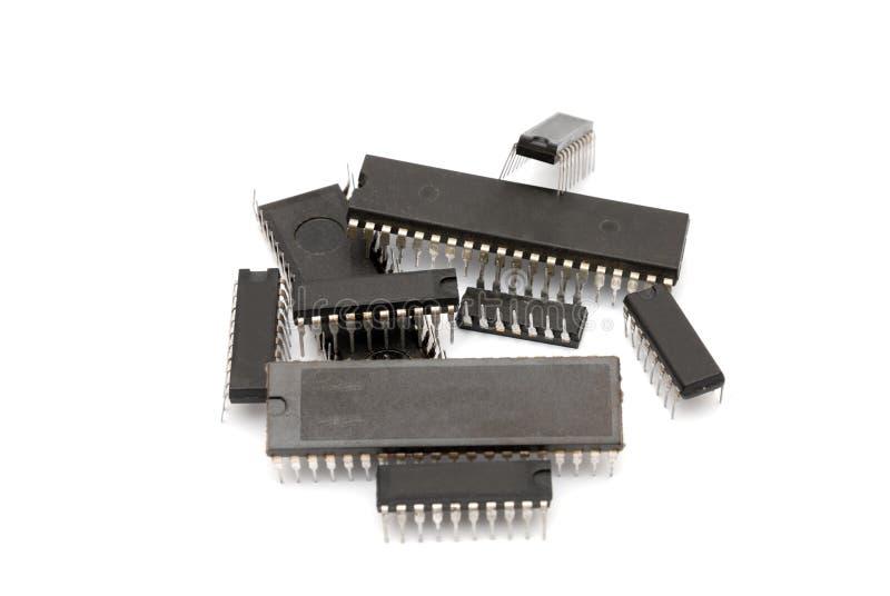 计算机微芯片 库存照片