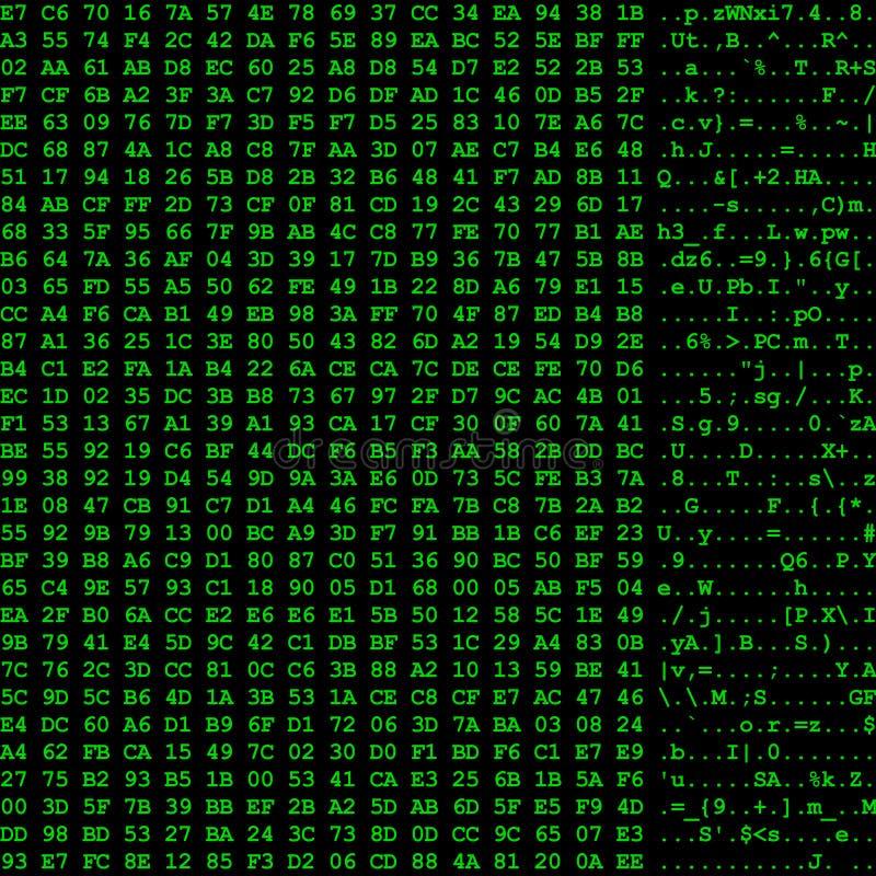 计算机数据流 皇族释放例证