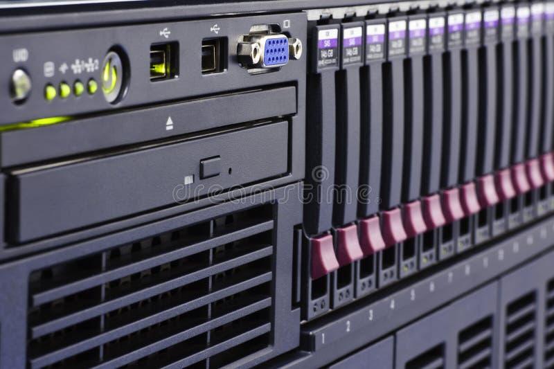 计算机机架 库存照片
