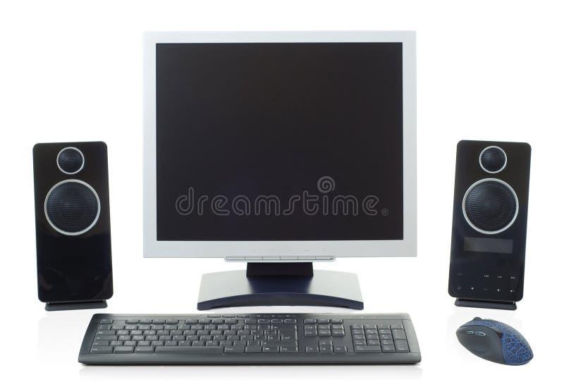 计算机桌面 免版税图库摄影