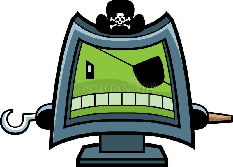 计算机海盗 皇族释放例证