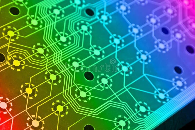 计算机电子模式 免版税库存图片