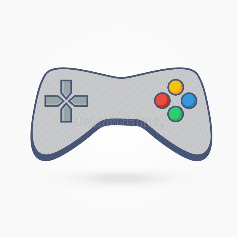 计算机电子游戏控制器 免版税库存图片