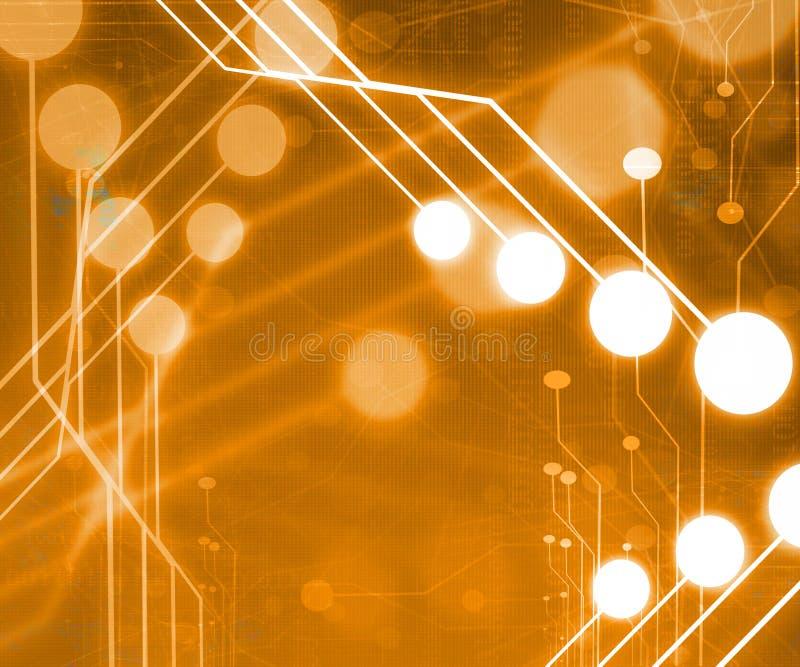 计算机电路 向量例证
