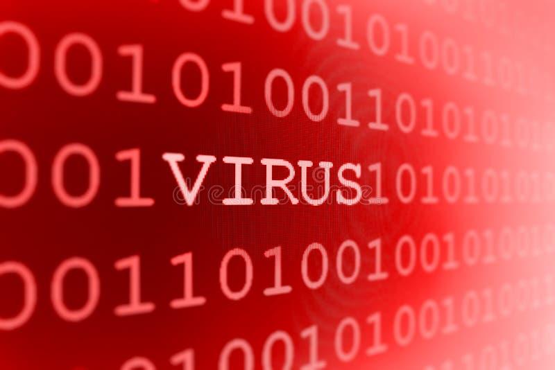 计算机病毒 图库摄影