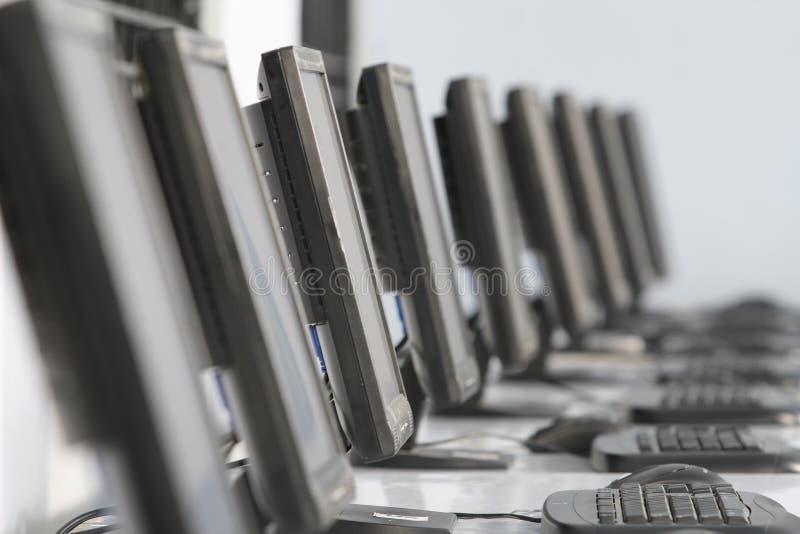 计算机监控程序 库存例证