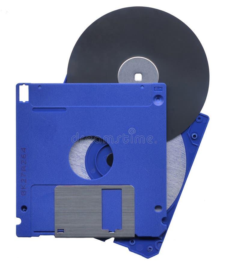 计算机盘开张了 库存图片
